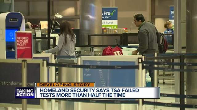 TSA agents routinely fail to spot threats, federal investigation finds