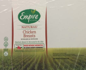 More than 10K pounds of chicken recalled