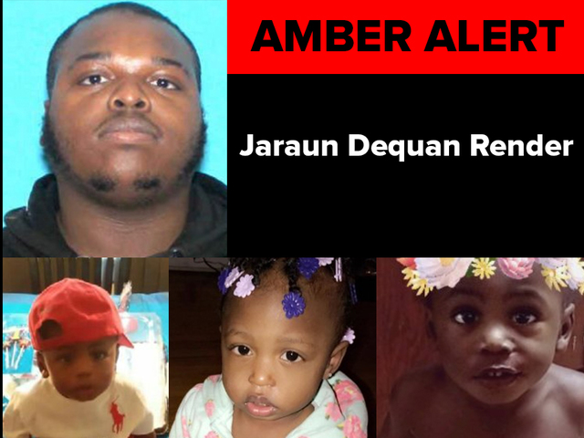 AMBER Alert issued for 3 young children in Muskegon after shooting