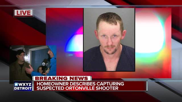 Manhunt underway for suspect in Ortonville double shooting