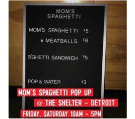 Eminem to hold 'mom's spaghetti' pop-up