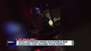 Video: People shot during fight at Detroit bar