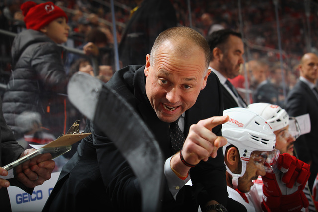Jeff Blashill To Return As Head Coach Of Red Wings Next Season