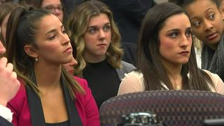 Aly Raisman gives moving victim statement