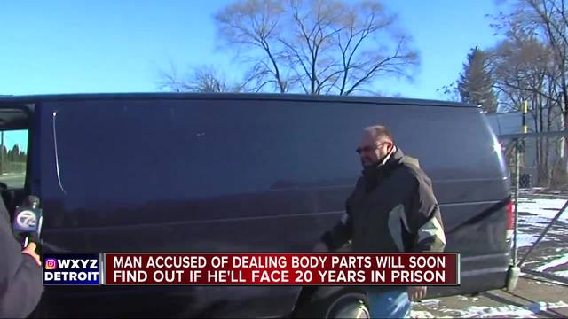 Detroit cadaver dealer Arthur Rathburn-s fate up to a jury- faces 20 years