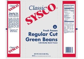 Frozen green beans, mixed veggies recalled