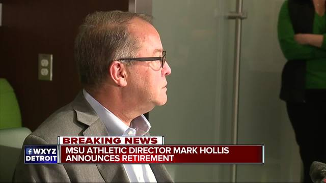 Michigan State president to step down over Larry Nassar scandal