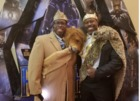Fans show off fashions for 'Black Panther'