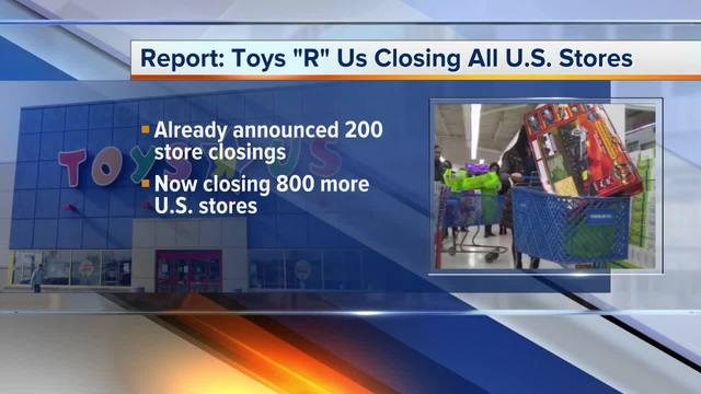 Toys R Us may close all USA  stores, reports indicate