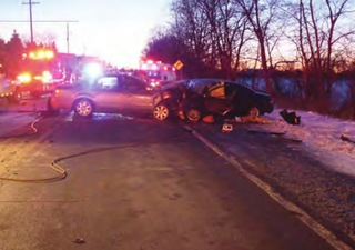 VIDEO: Police talk to drunk driver before crash