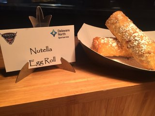 These are the new food items at Comerica Park