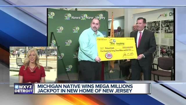 Mega Millions $533M jackpot victor is New Jersey food production manager