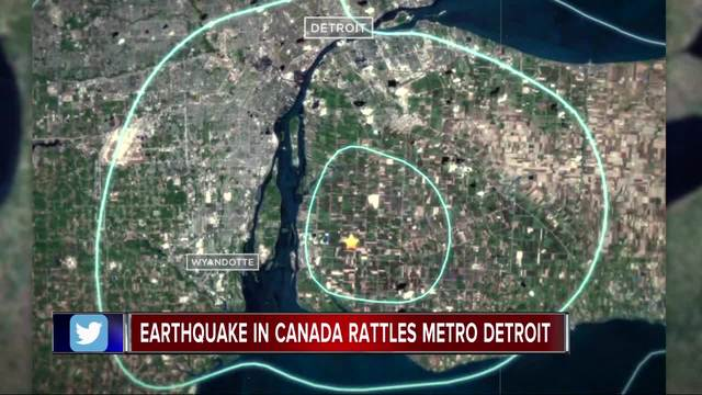 No damage or injuries reported after minor quake  strikes southwestern Ont.