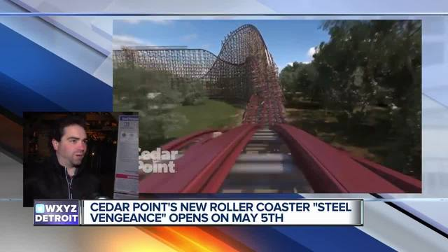 Steel Vengeance makes its debut at Cedar Point