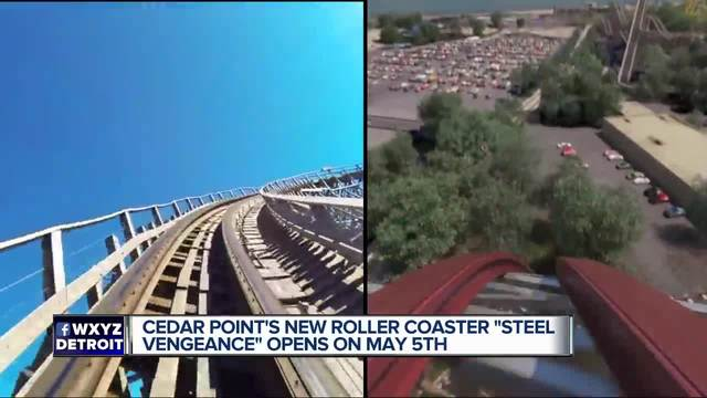 Media previews Cedar Points new ride 'Steel Vengeance'