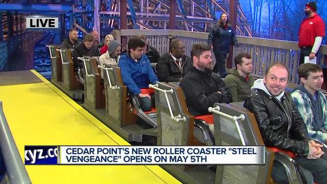 Derek rides Cedar Point's all new Steel Vengeance