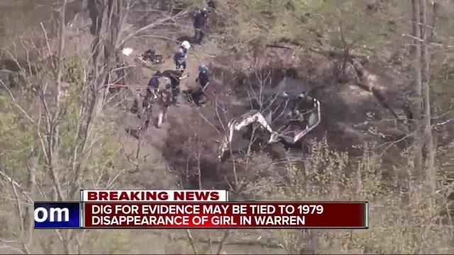 Excavation resumes for remains of missing girls in Michigan