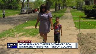 5-year-old's positive cocaine test was a mistake