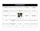 Royal Wedding 2018: Get your Bingo card