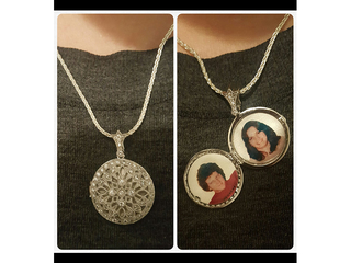Romulus woman reunited with sentimental locket