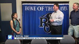 Royal Oak student overcomes odds, going to MSU