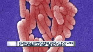 Belleville woman sues over tainted pre-cut melon
