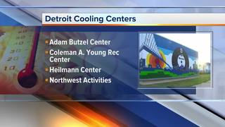 Beat the heat at these Detroit cooling centers