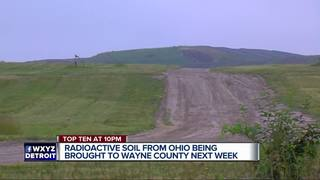Radioactive soil dumped at Michigan landfill