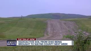 Radioactive soil dumped at Michigan landfill
