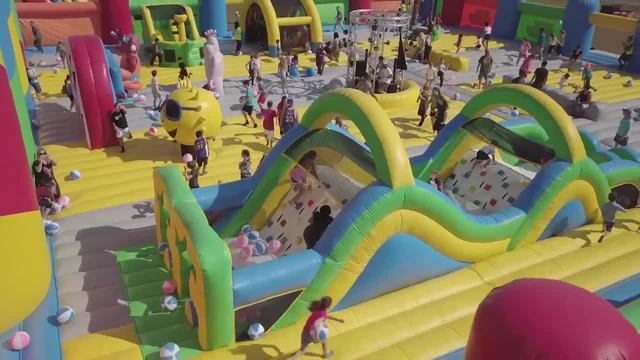 World's largest bounce house coming to metro Detroit in ...