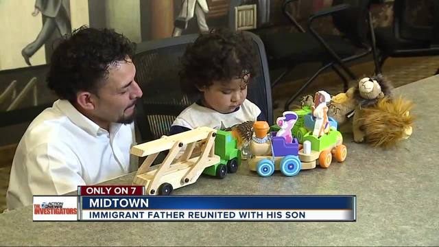Dad says it was a -nightmare- being separated from son for three and a…