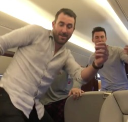 VIDEO: Justin Verlander does the 'Shiggy'