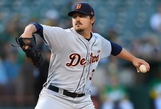 Tigers starter Blaine Hardy flirts with no-no