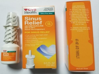 CVS Health sinus nasal spray recalled