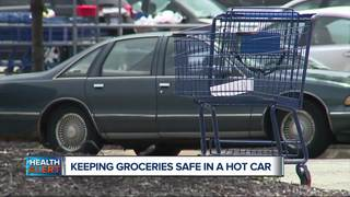 How to keep groceries safe in a hot car