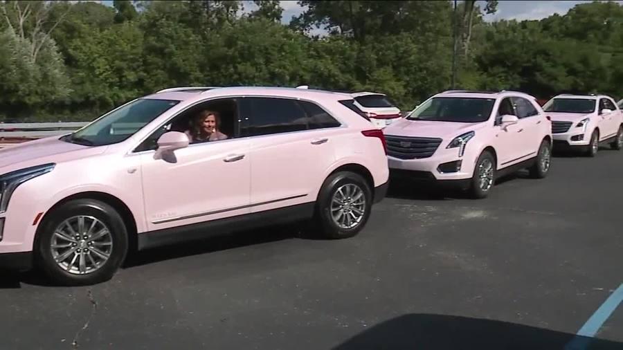Motorcade Of Pink Cadillacs Coming To Aretha Franklin S