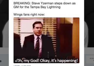 Red Wings fans react to Steve Yzerman news