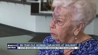 Woman, 88, carjacked in Walmart parking lot