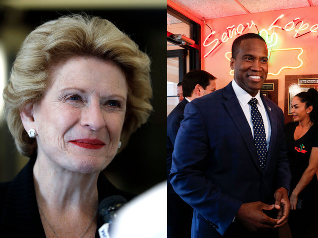 LIVE Debate - Debbie Stabenow and John James