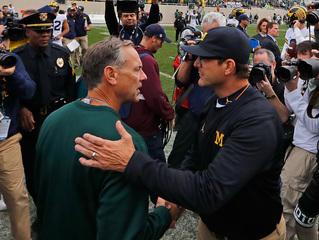 MSU, Michigan showing respect before big matchup