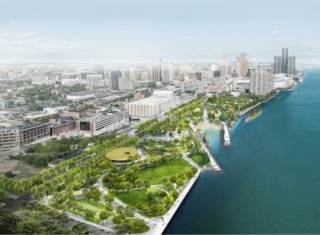$100M to be invested in Detroit park, trails