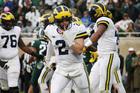 No. 6 Michigan beats No. 24 Michigan State