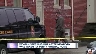 Funeral home owner responds after fetuses found