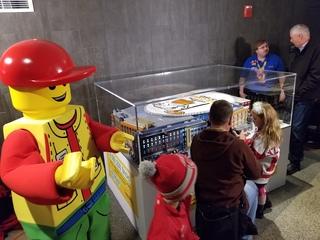 Lego replica of Little Caesars Arena unveiled