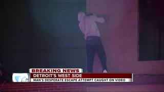 Man tries to escape after police chase