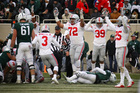 MSU hurt by mis-cues in loss to Ohio State