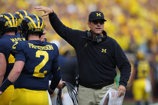 Harbaugh says Patterson will be NFL quarterback