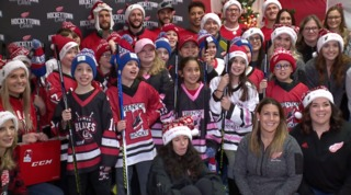 Red Wings host shopping spree with cool surprise