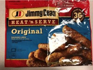 Recall: Sausage links may contain metal
