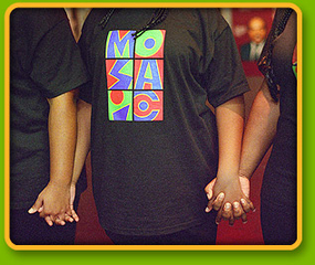 Mosaic Youth Theatre performs live!
